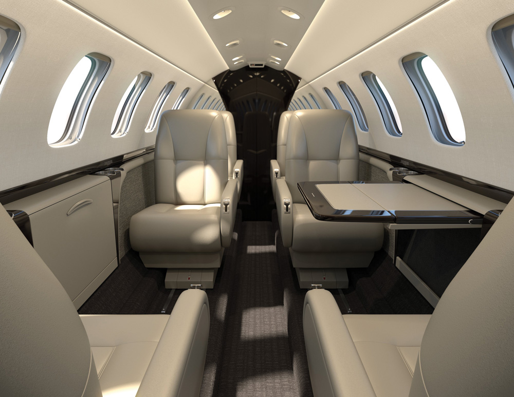 Cj3 Interior Package Options Duncan Aviation