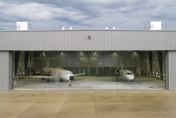 New paint hangar at Battle Creek, MI