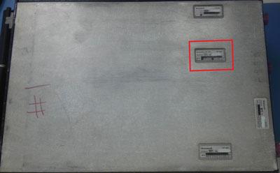 NV-850 module data plate