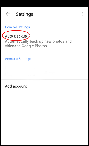 Preventing the Automatic Upload of Photos and Videos
