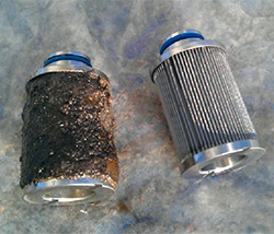 contaminated-fuel-filter