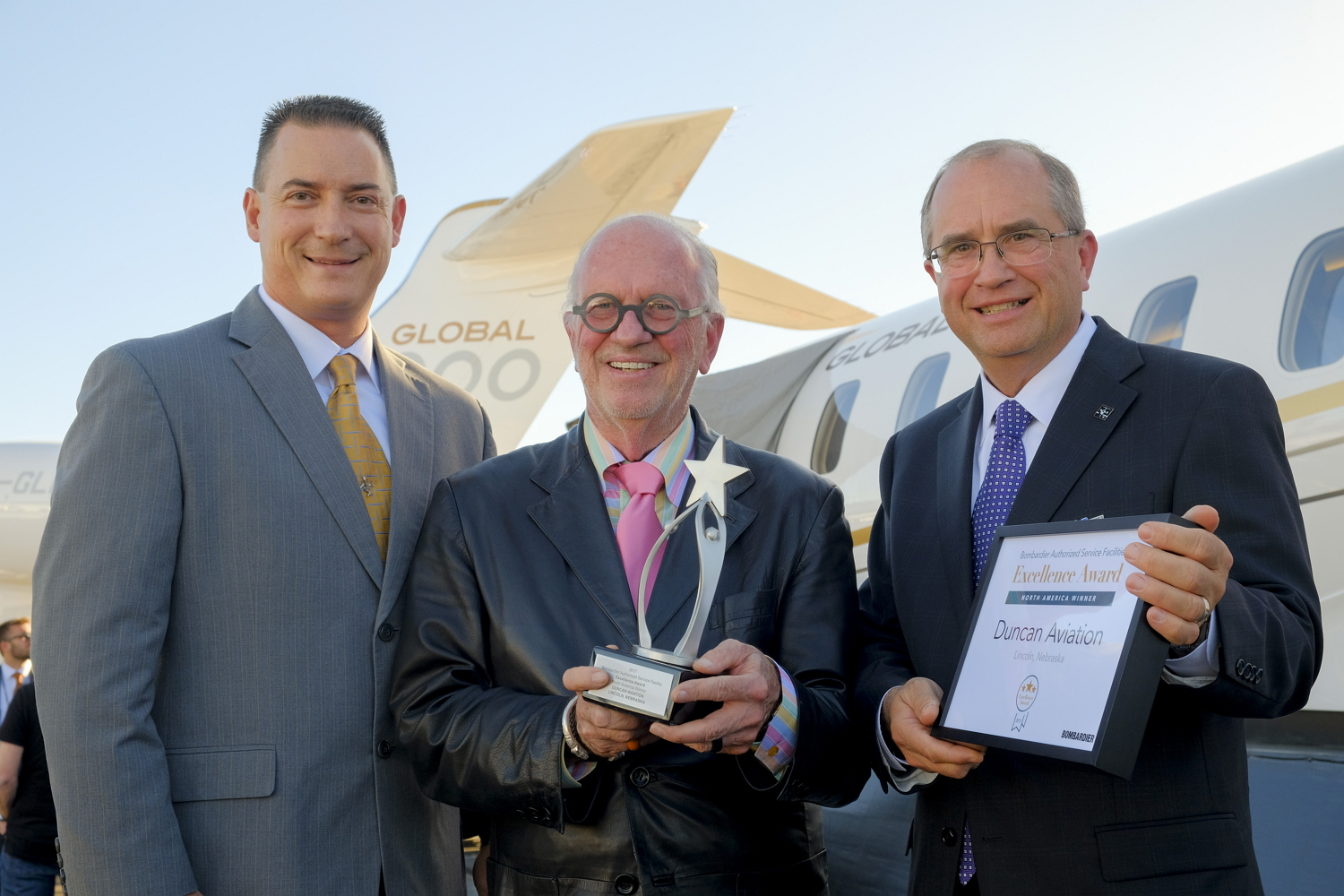 Duncan Aviation Bombardier Award at NBAA